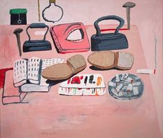 Philip Guston  - Painter's Table (1973)
