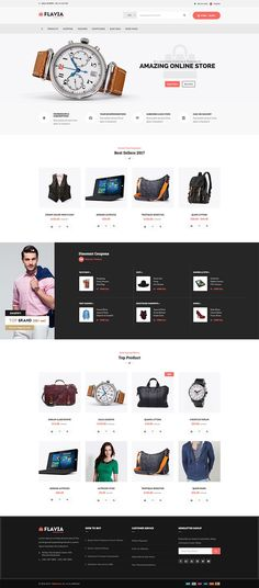 Flavia is a WooCommerce ready WordPress theme that offers unique post styles for adding products plus lots of options for managing your online shop.