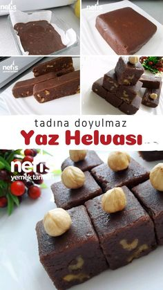 Delicious Desserts, Dessert Recipes, Yummy Food, Recipe Mix, Turkish Recipes, Bakery, Deserts, Food And Drink, Cooking