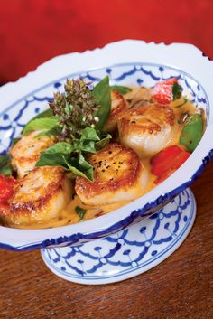 Tao in Las Vegas Red Curry Sallops - so good you'll drink the sacue from the bowl.