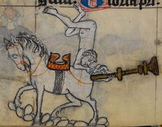 Detail from medieval manuscript, British Library Stowe MS 17 'The Maastricht Hours', f153v