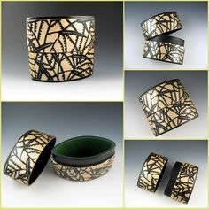 polymer clay inro box by Stonehouse Studio
