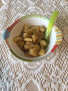 Gyömbéres mézes alma kompót (nem csak babáknak) 🍅🥰