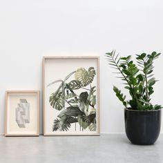 kunstwerk palmbomen