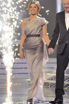 Dani Minogue in Victoria Beckham