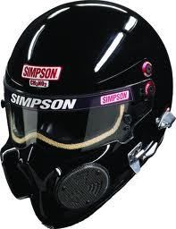 Simpson CH3 Motorcycle Helmet Gloss Black.. Drag lid. Proper serious hard core kit. #MOBrules