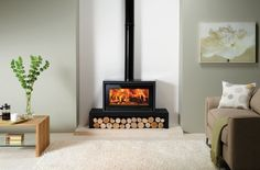Stovax Riva Studio wood fireplaces by Castworks