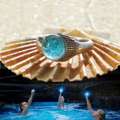 Hey, I found this really awesome Etsy listing at https://www.etsy.com/listing/111173988/mako-mermaid-ring-sterling-silver-925