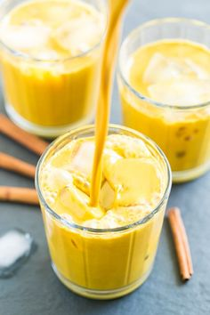 Golden Milk Iced Latte | Get Inspired Everyday!