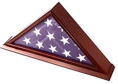 online shopping for DECOMIL - Burial/Funeral/Veteran Flag Elegant Display Case Base, Solid Wood, Cherry Finish from top store. See new offer for DECOMIL - Burial/Funeral/Veteran Flag Elegant Display Case Base, Solid Wood, Cherry Finish Veterans Flag, Gifts For Veterans, Folded Flag, Wall Display Case, Trophy Display, Solid Background, Museum Displays, Thing 1, Cherry Finish