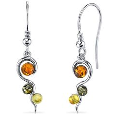 Baltic Amber Squiggle Earrings Sterling Silver Green Honey Cognac Colors Peora http://www.amazon.com/dp/B00X4M0VB4/ref=cm_sw_r_pi_dp_SZWkwb1G8QTZQ