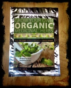 Seedsnow.com -- Herbal Medicine Seed Bank -- Best place to buy Non-GMO seeds!