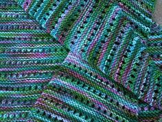 A beautiful color way.  The pattern is Baktus.