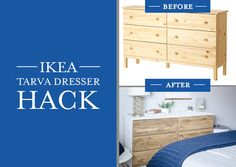 This DIY Ikea Hack is super simple and totally worth the elbow grease!