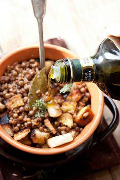 Zuppa di farro e roveja, da Juls'kitchen