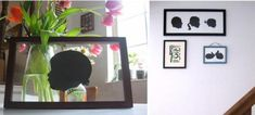 diy project: custom paper silhouettes | Design*Sponge