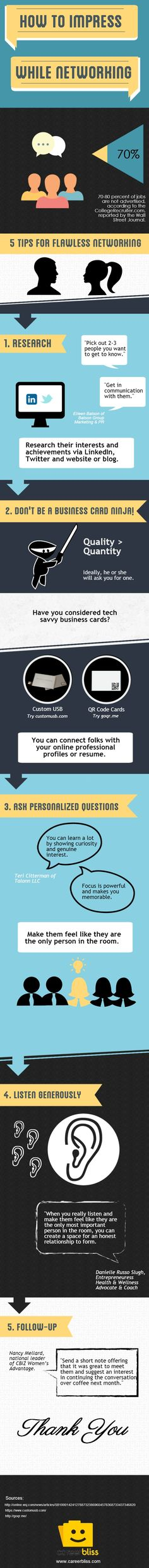 infographic 5 Ways to Impress While Networking . Image Description 5 Ways to Impress While Networking Professional Networking, Business Networking, Business Tips, Professional Resume, Career Success, Career Advice, Cv Web, Leadership, Curriculum Vitae