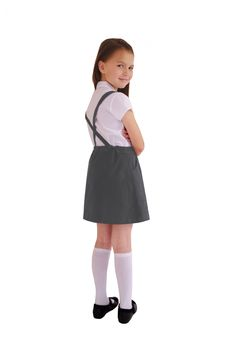 School uniform girl