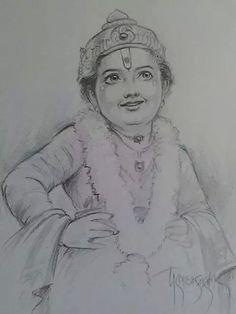 lord Shri Vitthal bhagwan Hanuman, Krishna, Pencil Art, Pencil Drawings, Perspective Drawing Lessons, Marathi Calligraphy, Lord Vishnu, God Pictures, Hindu Art