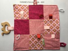 Sy selv en patchwork nusseklud/ slutte klud - gratis DIY