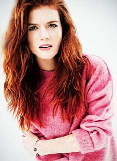 Rose Leslie (February 9, 1987) British actress, o.a. known from 'Game of thrones'.