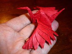 723: (173/365) Feathered Tsuru – Setting the Crease