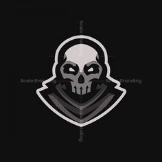 <p>When purchasing this premade Skull Mascot Logo, you will receive a version with an outline, and a version without the white outline. In the .zip file is also a vector file included.</p> Skull Design, Logo Design, Graphic Design, Sports Team Logos, Esports Logo, Mascot Design, Watercolor Logo, Game Logo, Logo Maker