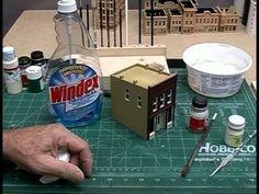 ▶ Constructing DPM Kits - Model Scenery | Woodland Scenics - YouTube #modeltrainkits