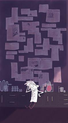 Weird but interesting... I like the grayish hue, and the violet light, but Sherlocks design isn't my favorite!