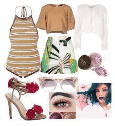 """""""style"""" by kathequero161 ❤ liked on Polyvore featuring SHE MADE ME, Emilio Pucci, The Fifth Label, Giamba and Jimmy Choo"""