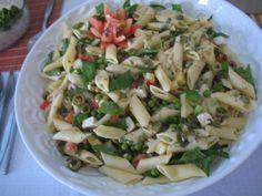 Salada de Massa e Espinafre