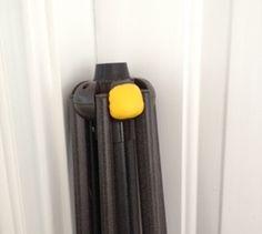 Repair a patio umbrella (before)