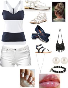 """Simple:)"" by jasie-styles ❤ liked on Polyvore"