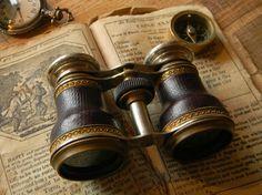 Wonderfully Preserved Antique Binoculars Opera by CuriosityShopper