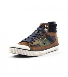 Pepe jeans industry pu baskets mode homme