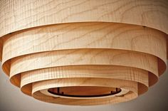 Wood Veneer Boll Chandelier Pendant Lighting Pendant Lighting Wood Lamps