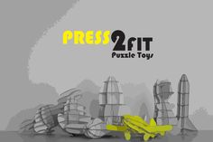 #1 Puzzle Toys By Press2Fit - Easy & FastTo Make