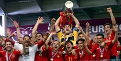 España campeona de la Eurocopa 2012 / Spain Euro 2012 Champion! #UEFA2012 Fuente: EL PAÍS