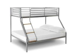Alascka Triple Sleeper Metal Bunk Bed Frame