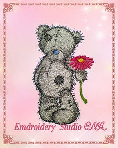 Teddy Bear 1- Its machine embroidery design for a Babies and Children of series Old Toy made by Oksana Vushkan. This embroidery is well suited for baby clothes, decorating the nursery, and other products for Babies  Embroidery design is available in two sizes:  OV_Teddy 1_L Sizes: 77,2 x 128,2 mm (3,04 x 5,05 ) Stitches : 16039 Colors: 9  OV_Teddy 1_Sm Sizes: 77,2 x 128,2 mm (2,33x 3,86 ) Stitches : 11402 Colors: 9  You can download your zipped file containing following formats: DST, XXX…