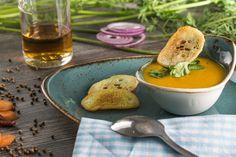 Karotten-Korriander Suppe