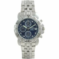 Krug Baumen 241269DM-BL Blue Sportsmaster Diamond Mens Chronograph Watch by Krug Baumen. $89.00. Save 95% Off!