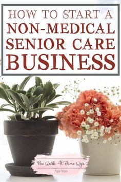 If you're interested in the helping professions but don't have an advanced training, there's great opportunity for you in a non-medical senior care business.