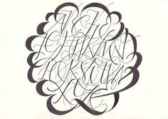 Lettering Time: cerchio perfetto