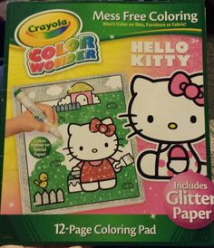 Hello Kitty Crayola Color Wonder
