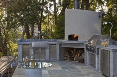 Outdoor kitchens. This continues to be one of the hottest home categories. Outdoor kitchens have become more and more elaborate, incorporating elements like gas lines to the barbeque (no more propane tanks), pizza ovens, sinks and even dishwashers.