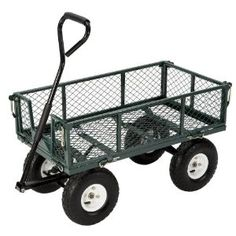 I got what was a great deal on a #garden cart like this, here it's on sale for $89.69