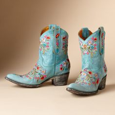 I WANT these boots!!!! I covet these boots with a passion!!! :: Old Gringo boots ::
