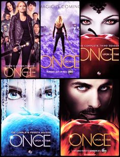 Which season is your favorite of Once Upon a Time? I love all 5 season and I own seasons 1-4 on DVD. But if I do have to pick a favorite season it is season 3.