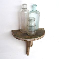 shabby chic chippy paint vintage shelf